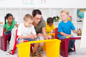 Early Education Training Sets New Standards at Community College