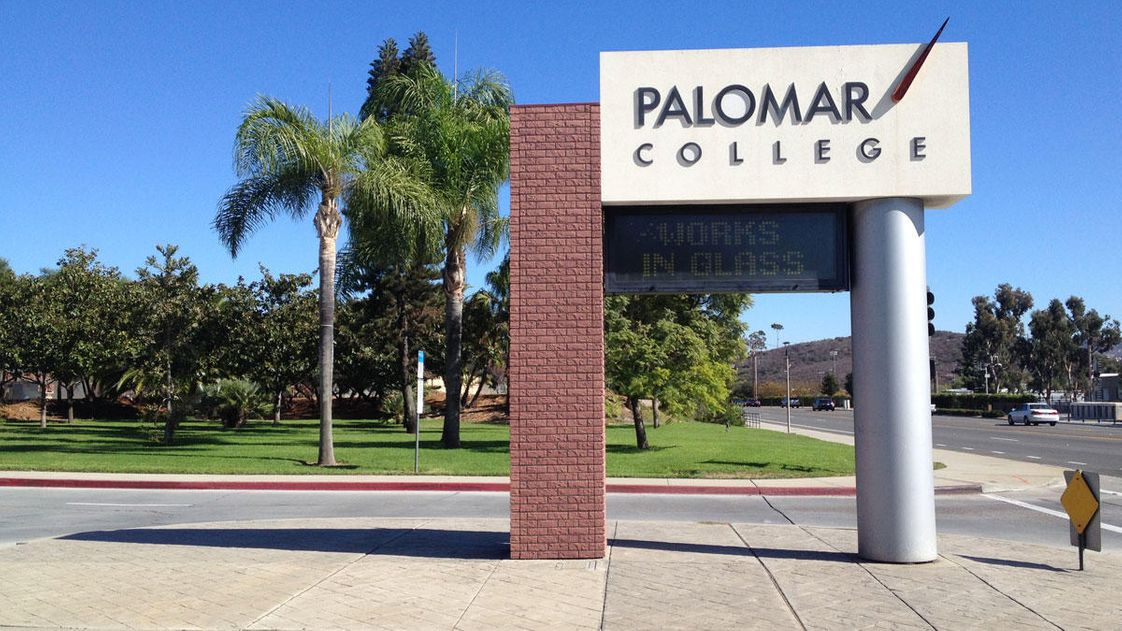 Palomar College Photo - Palomar College Main Entrance