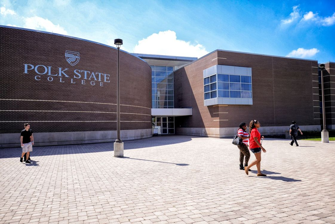 Polk State College Photo - Polk State College provides access to affordable, quality higher education to more than 16,000 students a year at six locations across Polk County, Florida.
