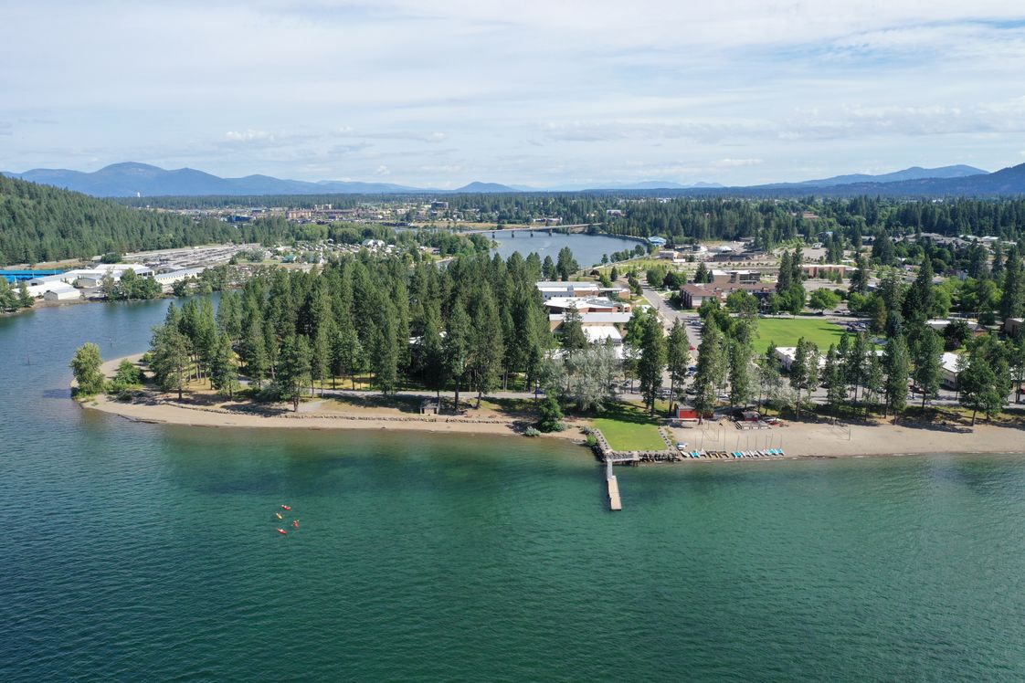 North Idaho College Photo - North Idaho College (NIC) is a comprehensive community college located on the stunning shores of Lake Coeur d'Alene.
