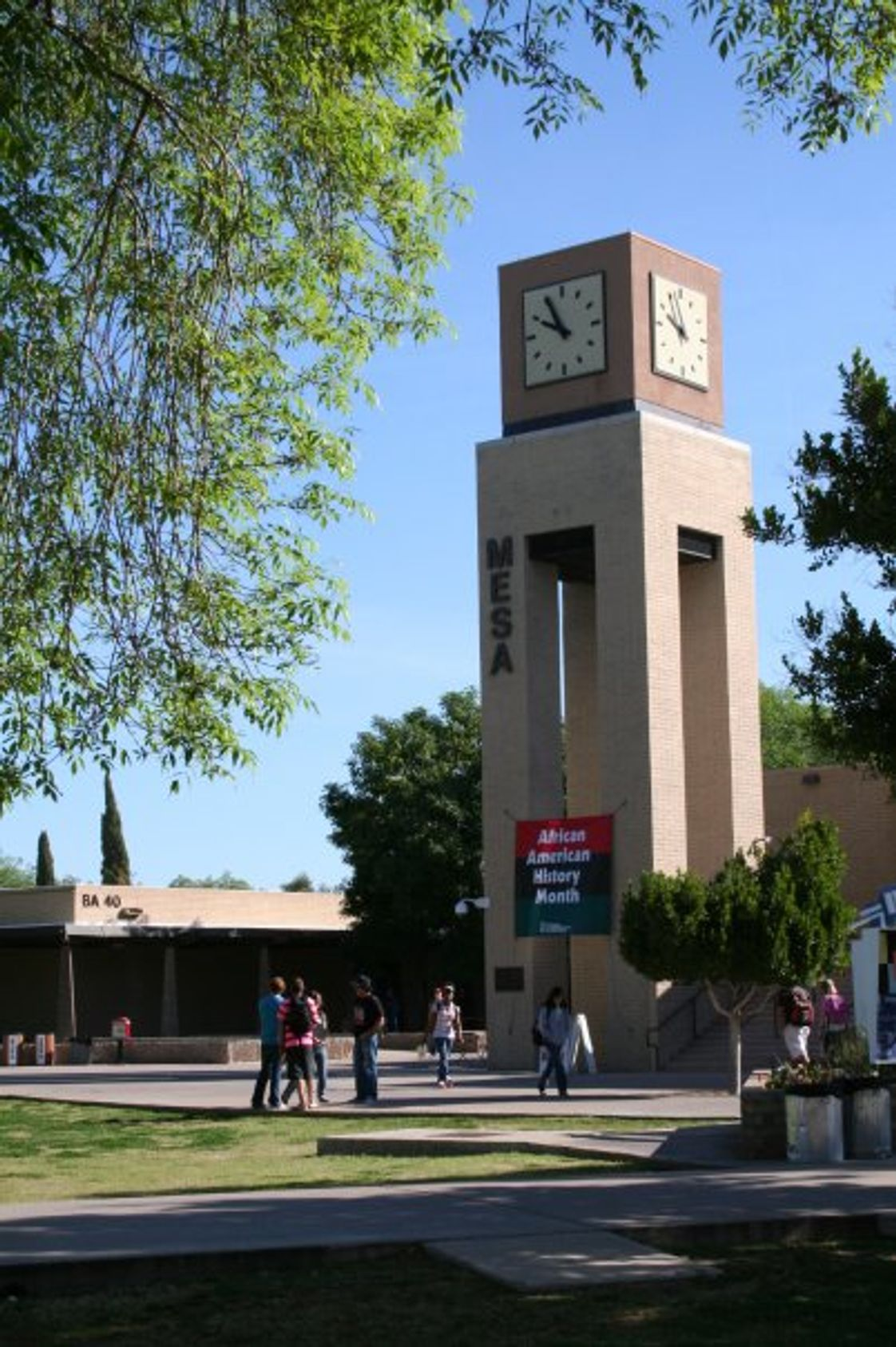 Mesa Community College Photo - MCC Clock Tower