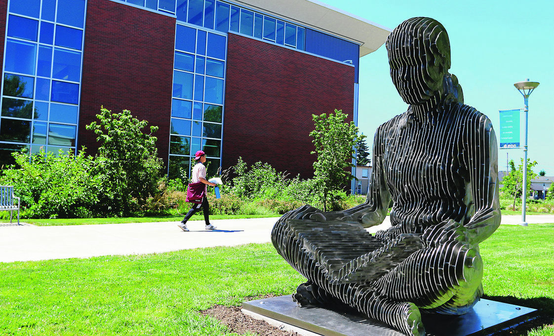 Portland Community College Photo - PCC- Southeast Sculpture