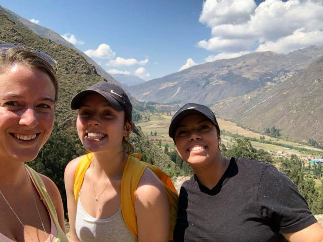 Mount Wachusett Community College Photo #1 - Students on service learning trip in Peru.