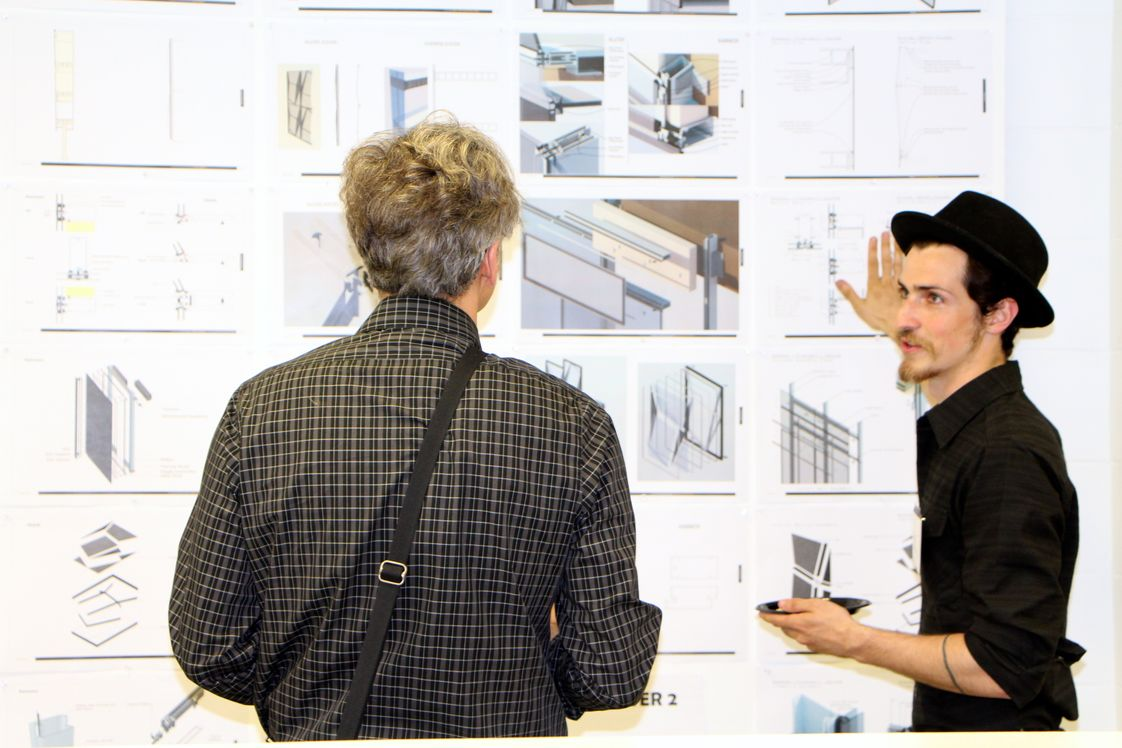 Dunwoody College of Technology Photo - Dunwoody Architecture student showcasing work samples