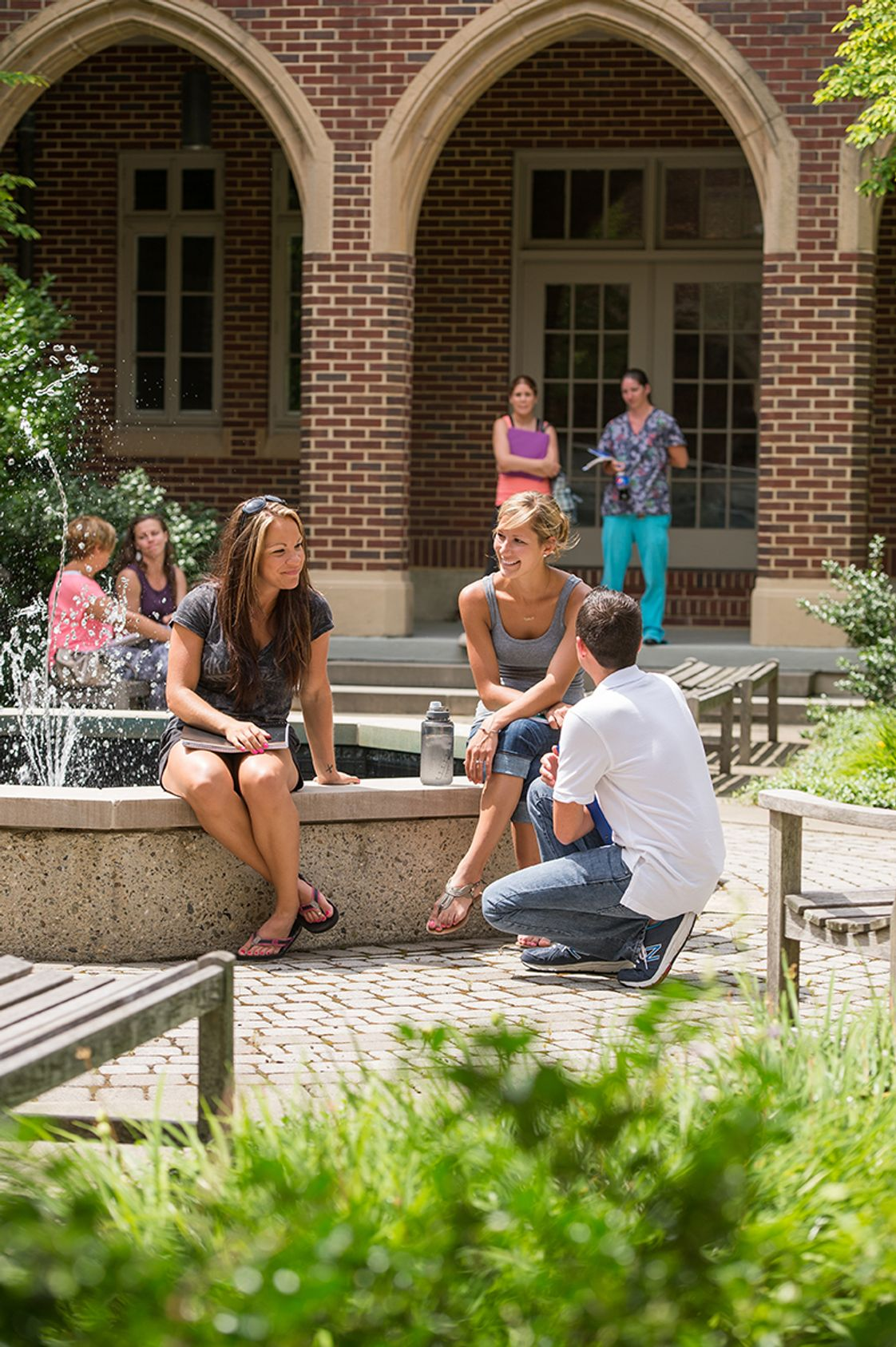 Maria College of Albany Photo - Unique areas for students to study, socialize and relax on this historic campus.
